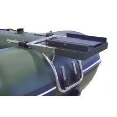 Bugplattform für Schlauchboote